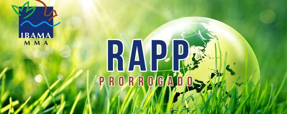 IBAMA altera prazo para envio do RAPP até 30 de Abril