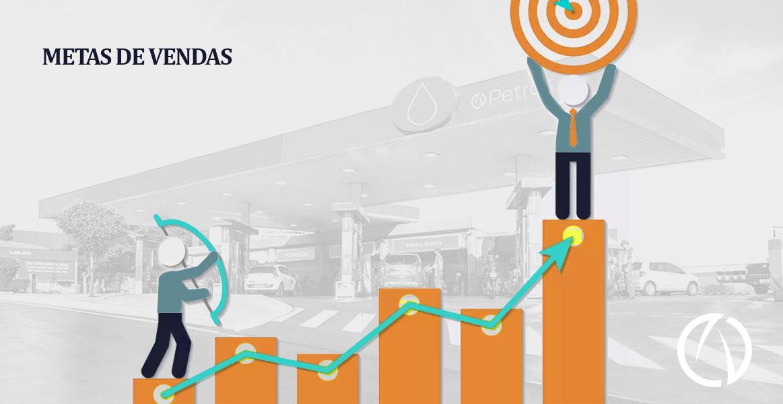 metas de vendas postos de combustíveis