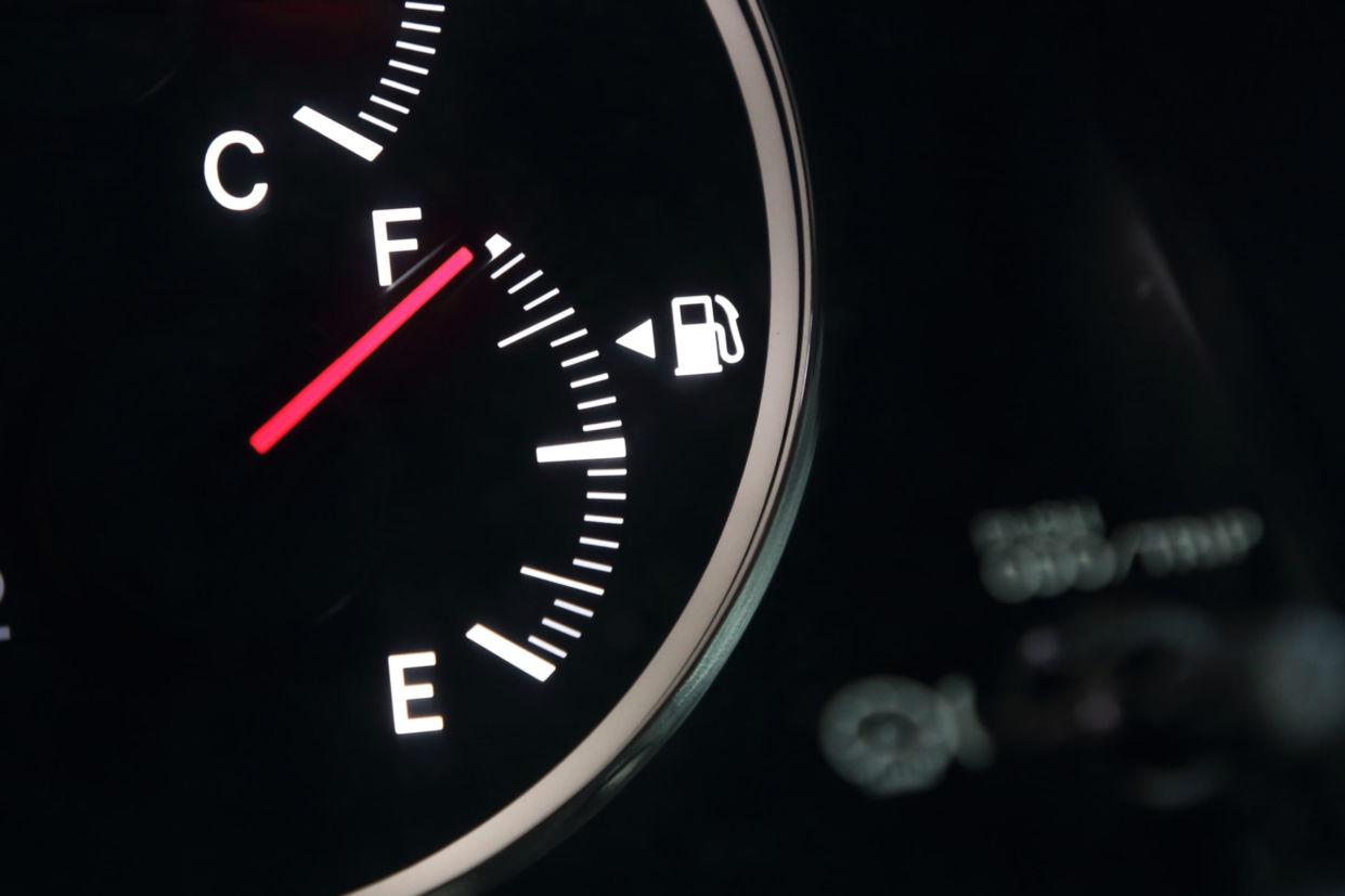 capacidade do tanque de combustível do veículo