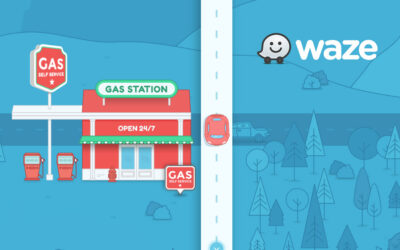 Aprenda como colocar seu posto de combustível no Waze