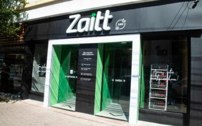 Uma loja de conveniência totalmente autônoma em SP