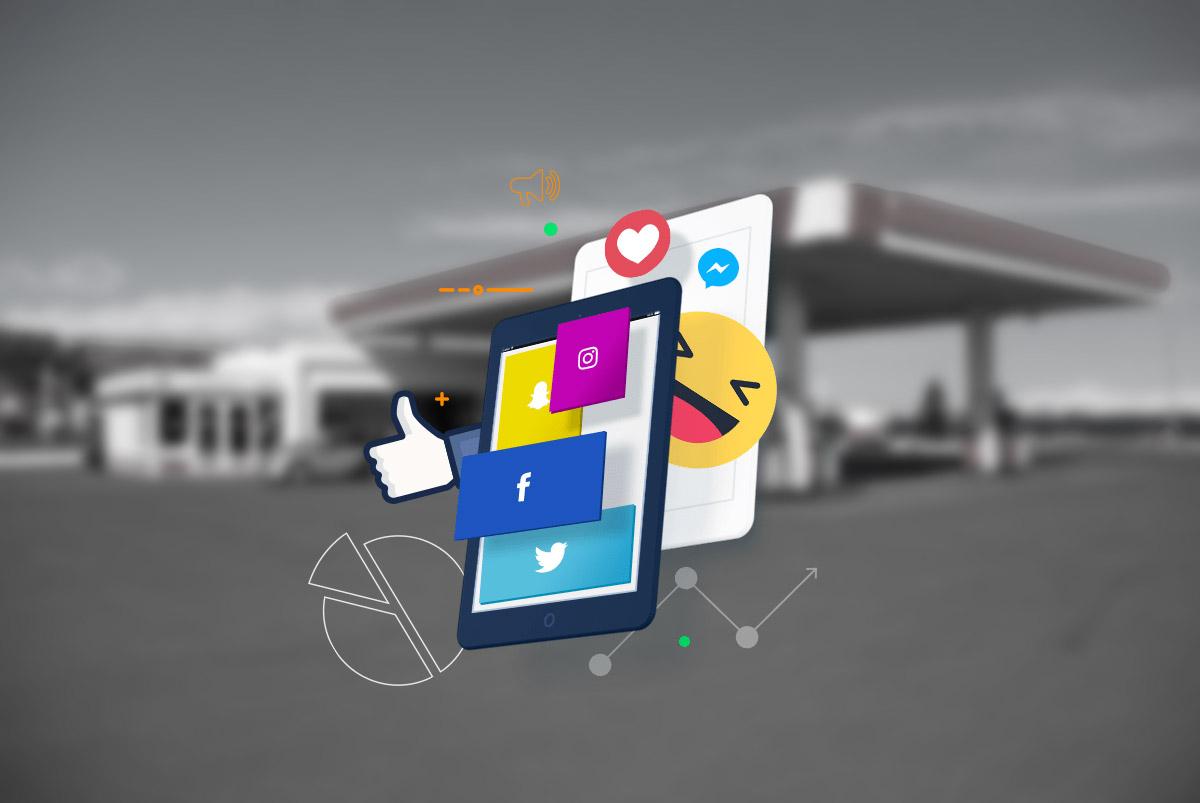 O poder das mídias sociais para postos de combustível e lojas de conveniência