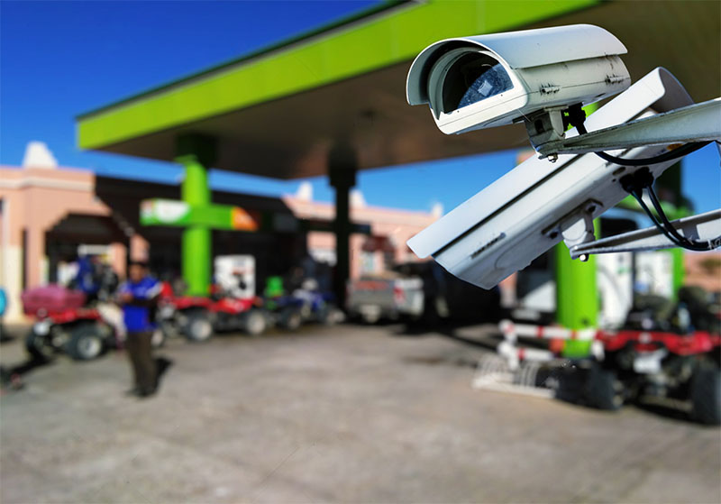 Medidas de segurança para postos de combustível