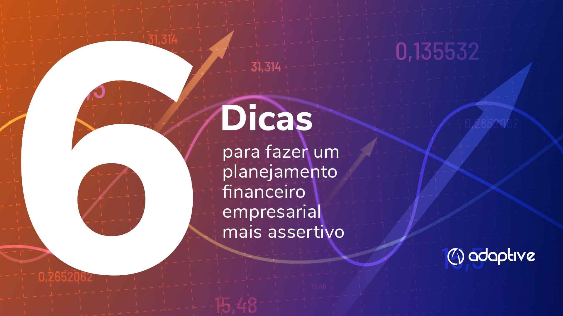 Planejmamento financeiro empresarial